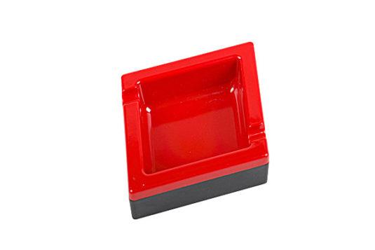 Cenicero poker diamante rojo