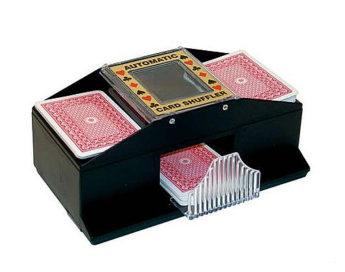 Barajador automatico electronico 2 barajas