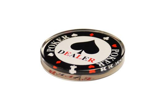 Dealer Poker Metacrilato