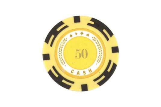 Ficha Cash Poker 50