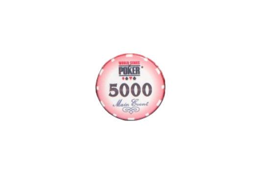 Ficha WSOP Tournament 5000