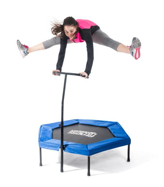 Trampolín hexagonal Fitness