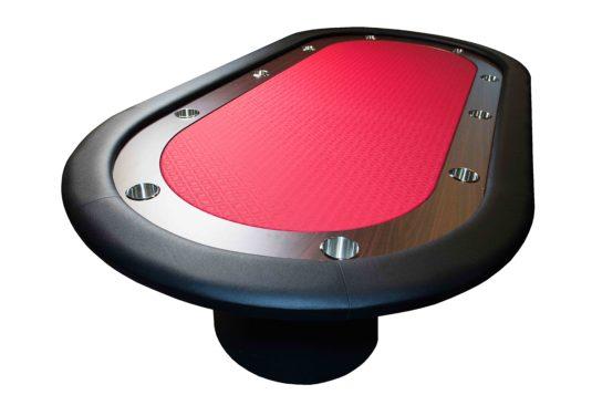 "Mesa de Juego Poker Roja 96"" Torneo"