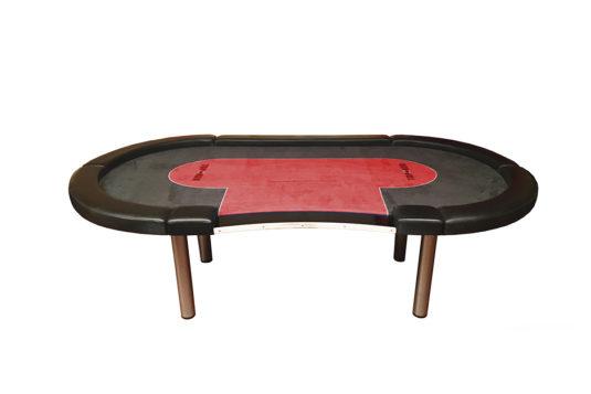 Mesa de Juego Poker TDPOKER High Stakes Roja