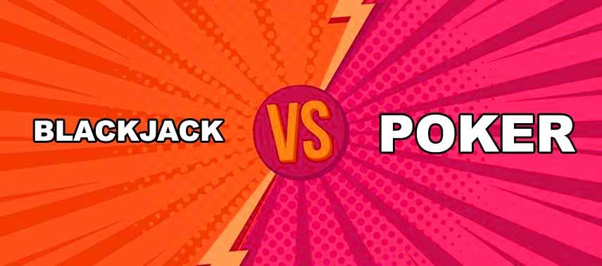 Diferencias principales entre el Blackjack y el Póker
