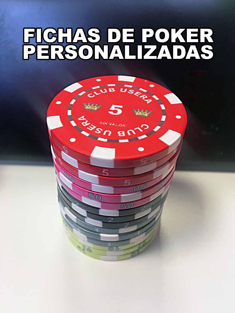 Fichas Poker Usera – Tokens Personalizados